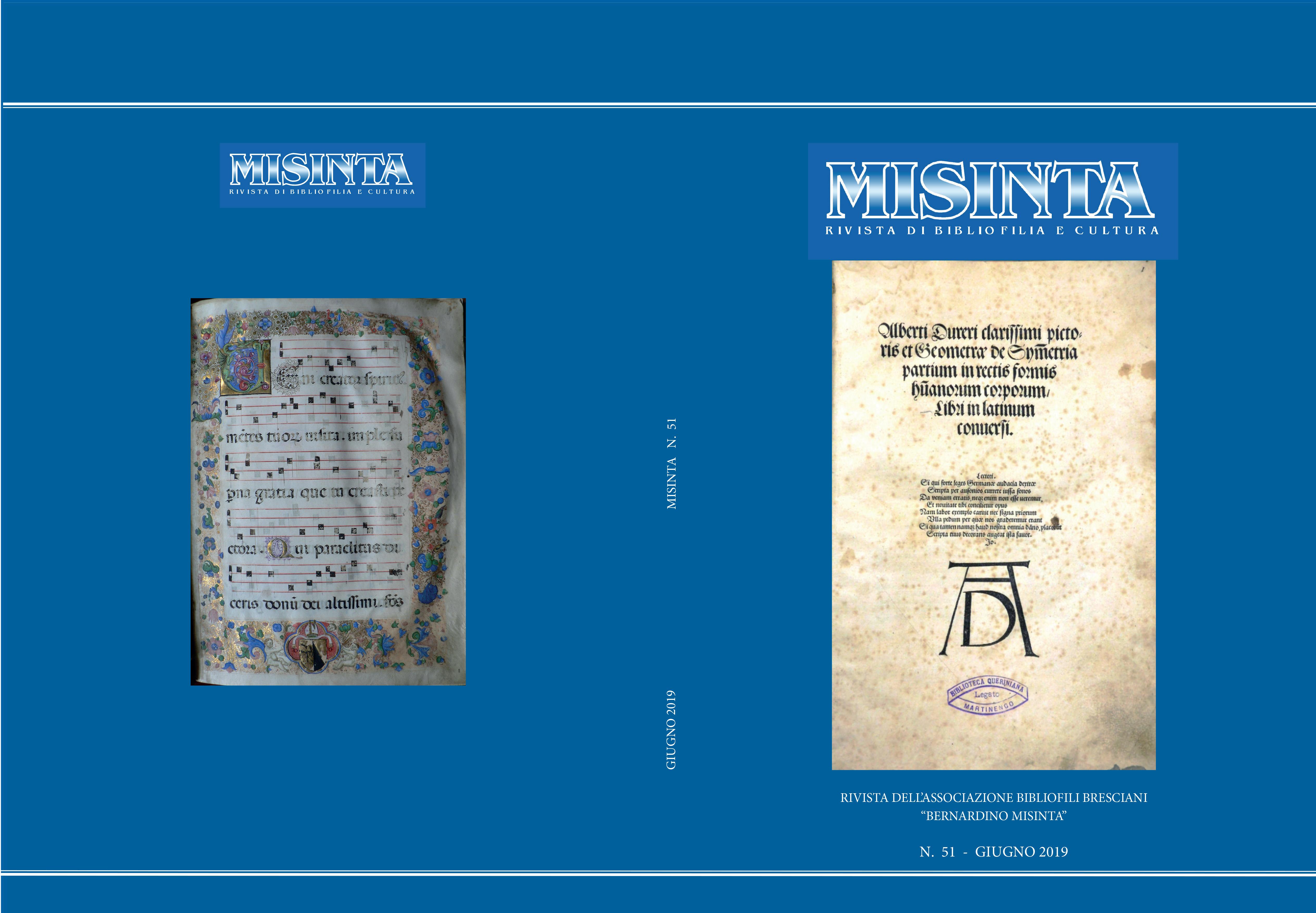 COPERTINE TUTTE MISINTA 51 xTIP-1
