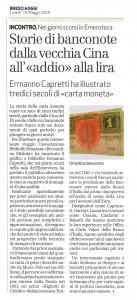 MISINTA - BRESCIAOGGI -10.05.2010 - Enzo Giacomini