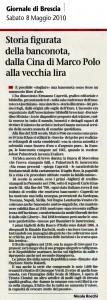 MISINTA - GIORNALE DI BRESCIA RECENSIONE - 08.05.2010