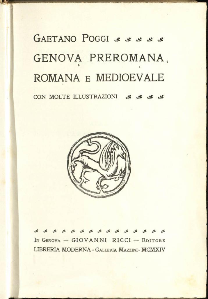 1914 POGGI -FRONTESPIZIO