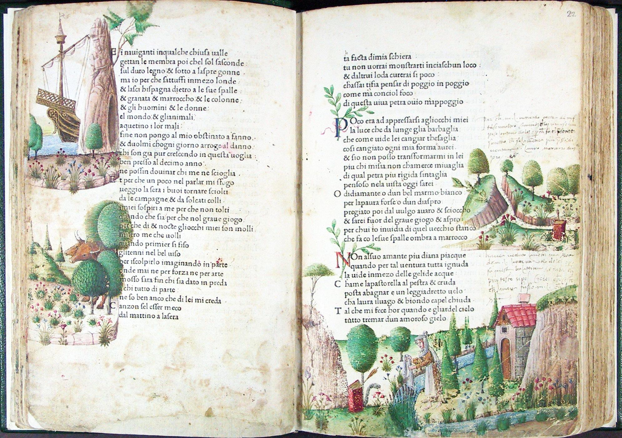 1470 Petrarca Canzoniere E Trionfi Miniato Misinta