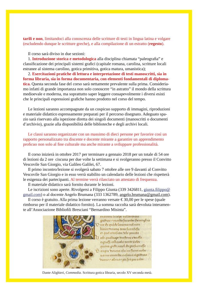 CORSO DI LETTURA-PALEOGRAFIA-2