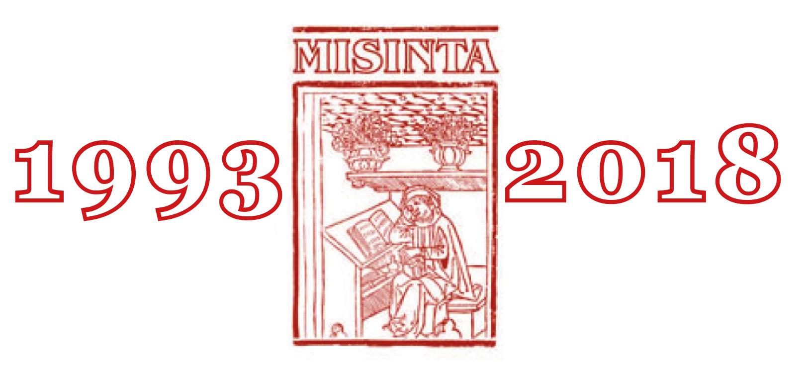 STORIA MISINTA X 25esimo logo