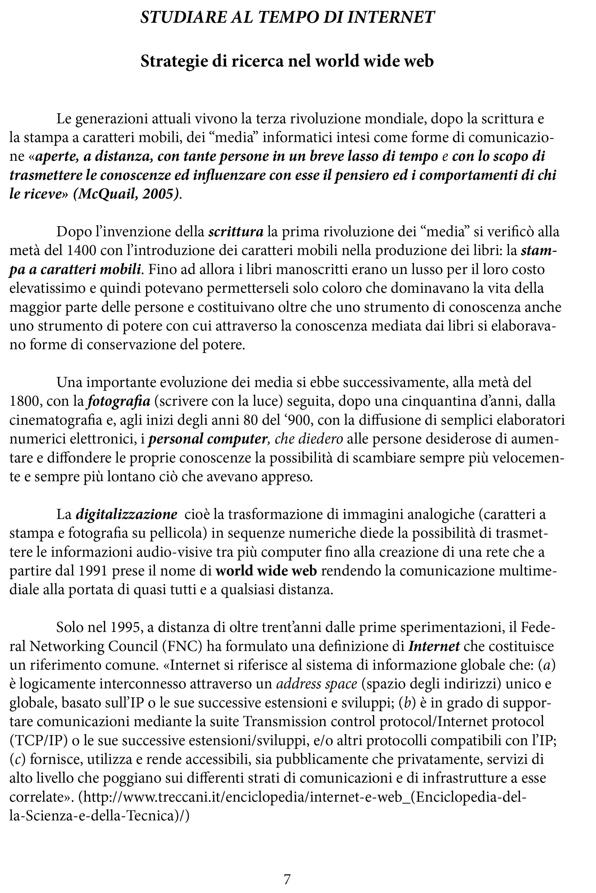 STUDIARE AL TEMPO DI INTERNET-7